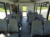 2020 Glaval Universal Ford 8 Passenger and 3 Wheelchair Shuttle Bus Interior-GL96377-12