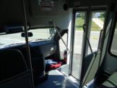 2020 Glaval Universal Ford 8 Passenger and 3 Wheelchair Shuttle Bus Interior-GL96377-17