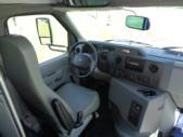 2020 Glaval Universal Ford 8 Passenger and 3 Wheelchair Shuttle Bus Interior-GL96377-18