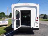 2020 Glaval Universal Ford 8 Passenger and 3 Wheelchair Shuttle Bus Interior-GL96377-9