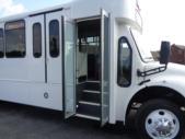 2020 Glaval Legacy Freightliner 26 Passenger and 2 Wheelchair Shuttle Bus Interior-GL97411-9