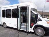 2020 Glaval Commute Ford 11 Passenger and 2 Wheelchair Shuttle Bus Interior-GL97424-11