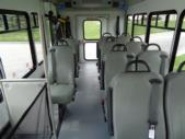 2020 Glaval Commute Ford 11 Passenger and 2 Wheelchair Shuttle Bus Interior-GL97424-12