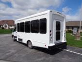 2020 Glaval Commute Ford 11 Passenger and 2 Wheelchair Shuttle Bus Driver side exterior rear angle-GL97424-4