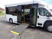 2020 New England Wheels Frontrunner Dodge 8 Passenger and 3 Wheelchair Shuttle Bus Interior-NEW0689-10
