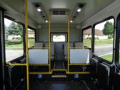 2020 New England Wheels Frontrunner Dodge 8 Passenger and 3 Wheelchair Shuttle Bus Interior-NEW0689-11