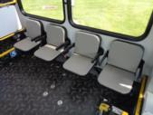 2020 New England Wheels Frontrunner Dodge 8 Passenger and 3 Wheelchair Shuttle Bus Interior-NEW0689-14
