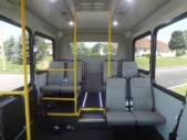 2021 New England Wheels Frontrunner Dodge 8 Passenger and 3 Wheelchair Shuttle Bus Interior-NEW1387-10