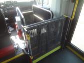 2021 New England Wheels Frontrunner Dodge 8 Passenger and 3 Wheelchair Shuttle Bus Interior-NEW1387-13