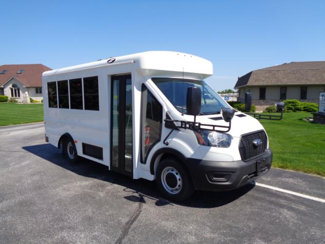 2020 Starcraft Prodigy Ford 14 Passenger Child Care Bus Passenger side exterior front angle-S96099-1