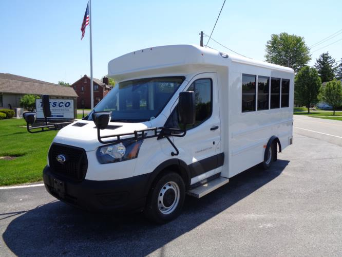 2020 Starcraft Prodigy Ford 14 Passenger Child Care Bus Driver side exterior front angle-S96099-2
