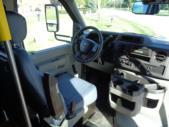 2022 StarTrans Senator II Ford 17 Passenger Shuttle Bus Interior-ST100851-16