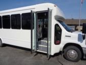 2022 StarTrans Senator II Ford 8 Passenger and 4 Wheelchair Shuttle Bus Interior-ST102278-11