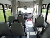 2021 StarTrans Candidate II Ford 13 Passenger Shuttle Bus Interior-ST96811-11