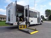2020 StarTrans Candidate II Ford 11 Passenger and 2 Wheelchair Shuttle Bus Interior-ST99343-10