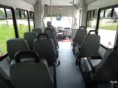 2020 StarTrans Candidate II Ford 11 Passenger and 2 Wheelchair Shuttle Bus Interior-ST99343-13
