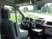 2020 StarTrans Candidate II Ford 11 Passenger and 2 Wheelchair Shuttle Bus Interior-ST99343-18
