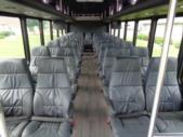 2022 StarTrans President Freightliner 35 Passenger Shuttle Bus Interior-TESCO96424-11