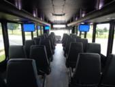 2022 StarTrans President Freightliner 35 Passenger Shuttle Bus Interior-TESCO96424-12