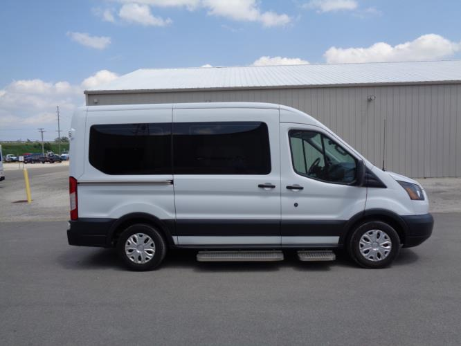 2016 Transit Ford 4 Passenger and 1 Wheelchair Van Driver side exterior front angle-08762-2