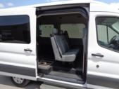 2016 Transit Ford 4 Passenger and 1 Wheelchair Van Passenger side exterior rear angle-08762-3