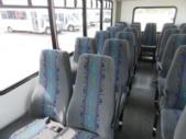 2016 Goshen Coach Ford 25 Passenger Shuttle Bus Rear exterior-08800-8