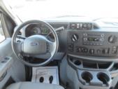 2015 Turtle Top Ford E450 25 Passenger Shuttle Bus Interior-09031-15