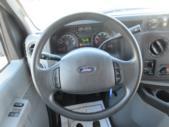2015 Turtle Top Ford E450 25 Passenger Shuttle Bus Interior-09031-16
