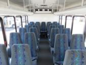 2015 Turtle Top Ford E450 25 Passenger Shuttle Bus Front exterior-09031-7
