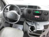 2016 Goshen Coach Ford 12 Passenger and 2 Wheelchair Shuttle Bus Interior-09068-17