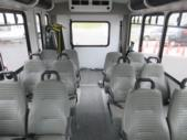 2016 Goshen Coach Ford 12 Passenger and 2 Wheelchair Shuttle Bus Interior-09068-9