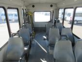 2012 Goshen Coach Chevrolet 9 Passenger and 1 Wheelchair Shuttle Bus Rear exterior-09126-8