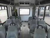 2016 Goshen Coach Ford 12 Passenger and 2 Wheelchair Shuttle Bus Interior-09169-9