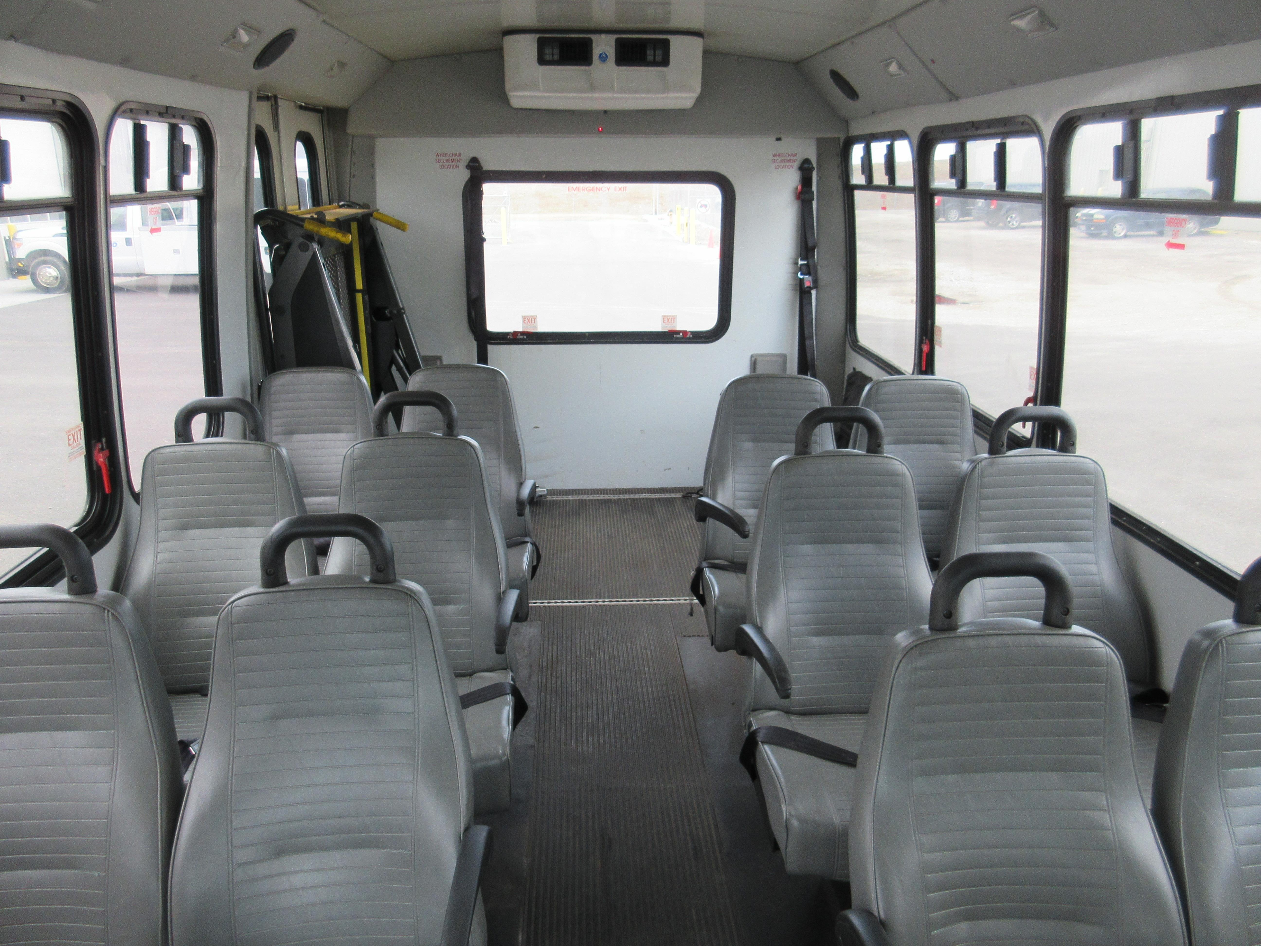 2012 Goshen Coach Ford 12 Passengers and 2 Wheelchairs