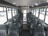 2016 Startrans Ford 24 Passenger and 2 Wheelchair Shuttle Bus Rear exterior-09184-8