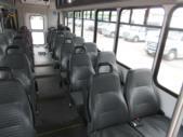 2016 Startrans Ford 24 Passenger and 2 Wheelchair Shuttle Bus Interior-09184-9