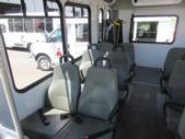 2016 Goshen Coach Ford 12 Passenger and 2 Wheelchair Shuttle Bus Interior-09219-10