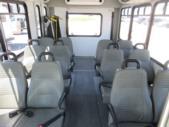 2016 Goshen Coach Ford 12 Passenger and 2 Wheelchair Shuttle Bus Rear exterior-09219-8