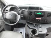 2016 Goshen Coach Ford 12 Passenger and 2 Wheelchair Shuttle Bus Interior-09220-16