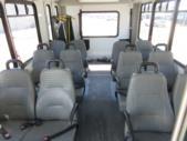 2016 Goshen Coach Ford E350 12 Passenger and 2 Wheelchair Shuttle Bus Front exterior-09248-7