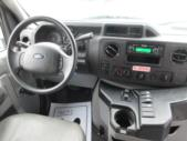 2016 Goshen Coach Ford E350 12 Passenger and 2 Wheelchair Shuttle Bus Interior-09249-16