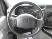 2016 Goshen Coach Ford E350 12 Passenger and 2 Wheelchair Shuttle Bus Interior-09249-17