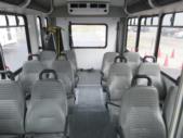 2016 Goshen Coach Ford E350 12 Passenger and 2 Wheelchair Shuttle Bus Rear exterior-09249-8