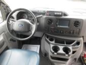 2016 Diamond Coach Ford E350 14 Passenger Shuttle Bus Interior-09278-16