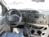 2017 Turtle Top Ford E350 14 Passenger Shuttle Bus Interior-09326-12