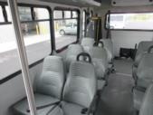 2017 Glaval Ford E350 12 Passenger and 2 Wheelchair Shuttle Bus Interior-09420-10