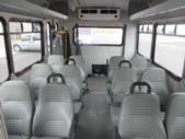 2017 Glaval Ford E350 12 Passenger and 2 Wheelchair Shuttle Bus Rear exterior-09420-8