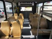 2017 World Trans Ford E350 12 Passenger and 2 Wheelchair Shuttle Bus Rear exterior-09451-8