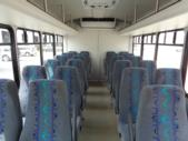 2017 StarTrans Ford E450 24 Passenger Shuttle Bus Front exterior-09527-7