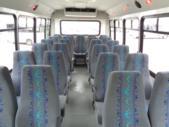 2019 Elkhart Coach Ford E450 25 Passenger Shuttle Bus Front exterior-09529-7